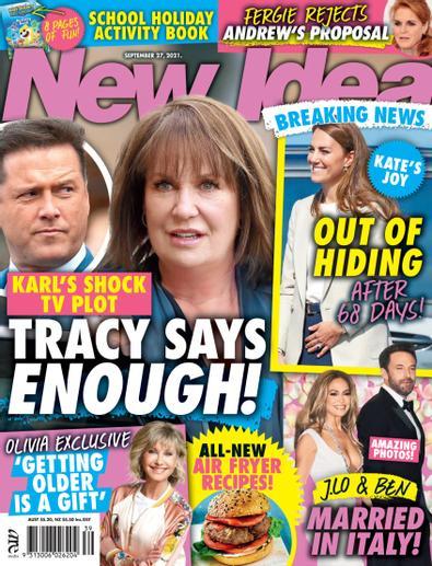 New Idea magazine cover