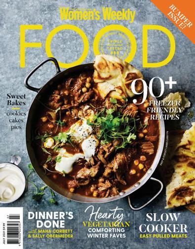 Australian Women's Weekly Food magazine cover