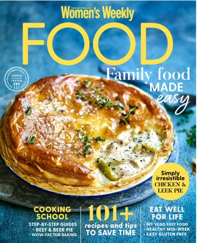 Australian Women's Weekly Food magazine cover
