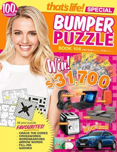 That's Life Bumper Puzzle magazine cover