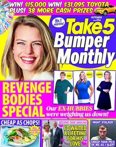 Take 5 Monthly magazine cover