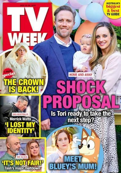 TV Week magazine cover