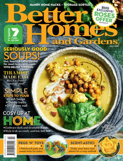 Better Homes and Gardens magazine cover