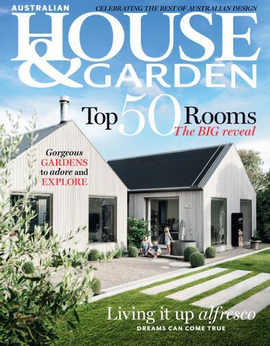 Australian House & Garden magazine cover