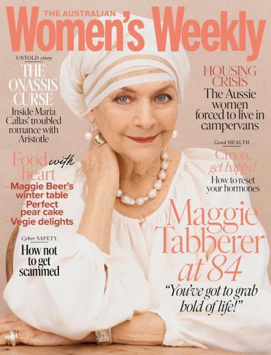 Australian Women's Weekly magazine cover
