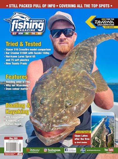 Fishing Monthly magazine cover