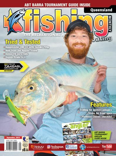 Queensland Fishing Monthly magazine cover