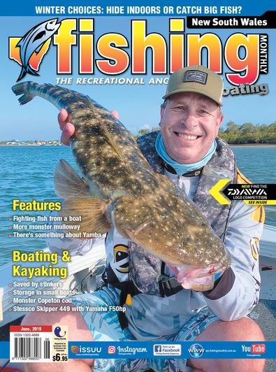 New South Wales Fishing Monthly magazine cover