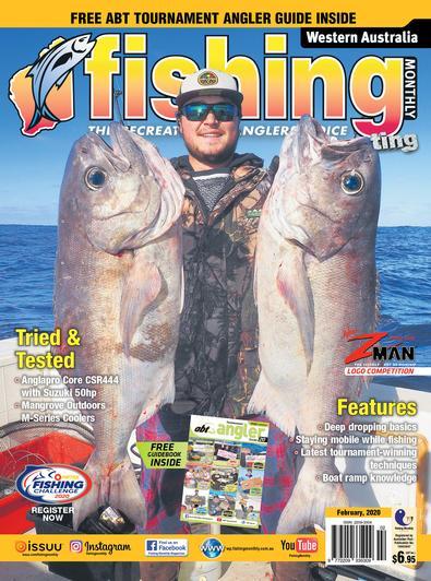 Western Australia Fishing Monthly magazine cover