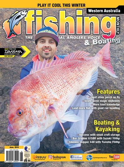 Western Australia Fishing Monthly magazine cover