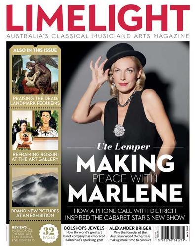 Limelight magazine cover