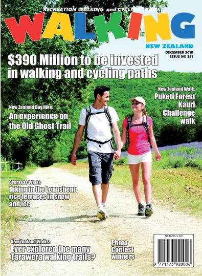 Walking New Zealand magazine cover