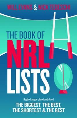 The Book of NRL Lists cover