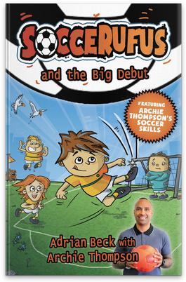 Soccerufus and the Big Debut cover