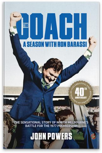 The Coach. A Season with Ron Barassi. cover