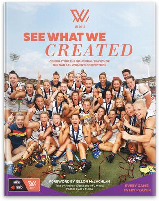 AFLW - See What We Created cover