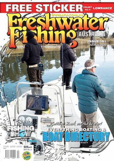 Freshwater Fishing Australia magazine cover