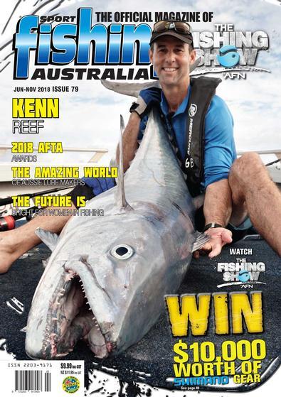 Sport Fishing Australia magazine cover