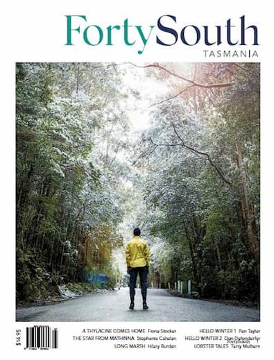 Forty South Tasmania magazine cover
