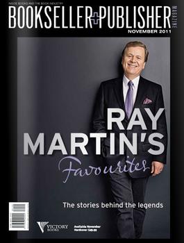 Bookseller+Publisher Magazine cover