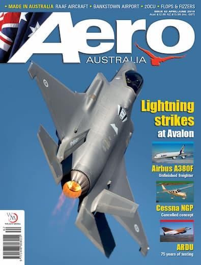 AERO Australia magazine cover