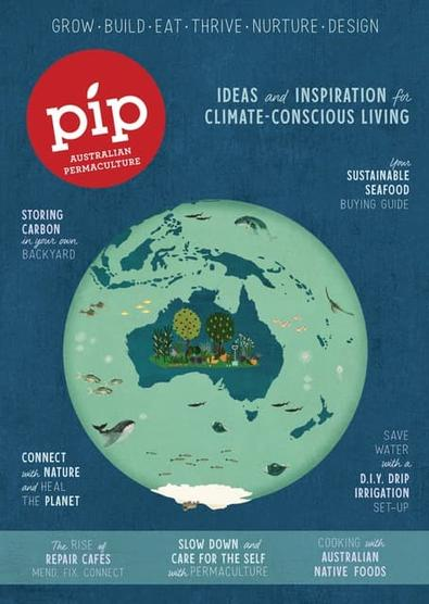 Pip - Australian Permaculture Magazine cover
