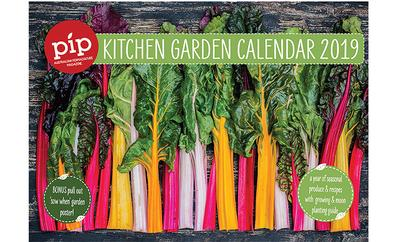 2019 Pip Kitchen Garden Calendar cover