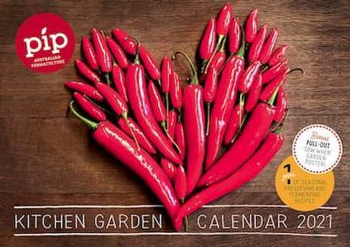 Pip 2021 Kitchen Garden Calendar cover