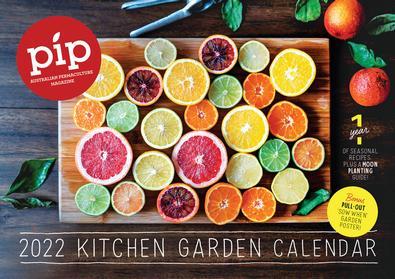 Pip 2022 Kitchen Garden Calendar cover