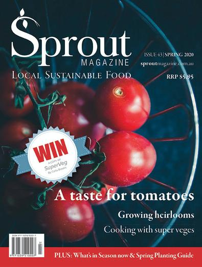Sprout Magazine cover