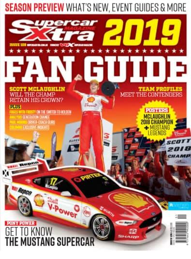 Supercar Xtra Magazine cover
