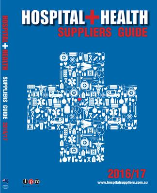 Hospital & Health Suppliers Guide 2016/17 cover