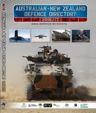 Australian & New Zealand Defence Directory 2016/17 cover