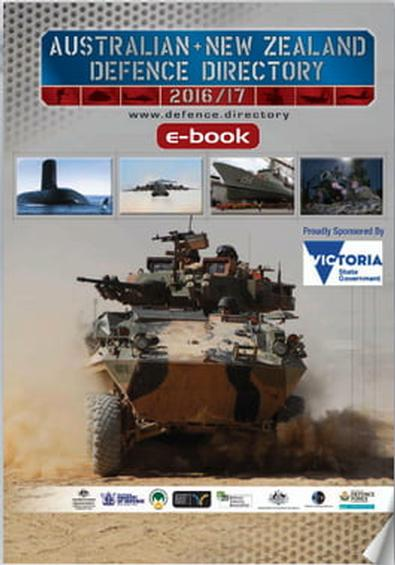 Australian & NZ Defence Directory CD ROM 2016/17 cover