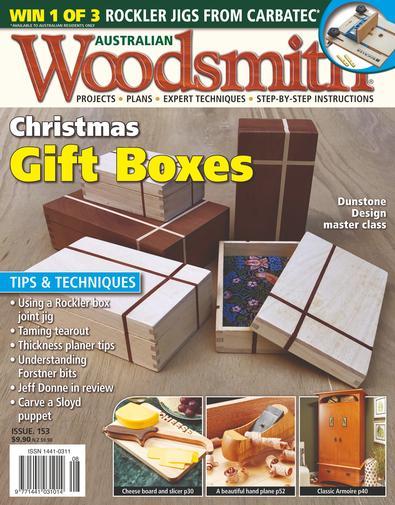 Australian Woodsmith magazine cover