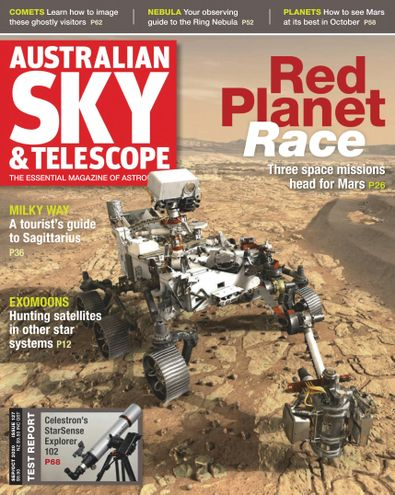 Australian Sky & Telescope magazine cover