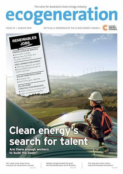 EcoGeneration magazine cover