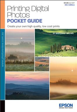 Printing Digital Photos Pocket Guide 6th Edition magazine subscription