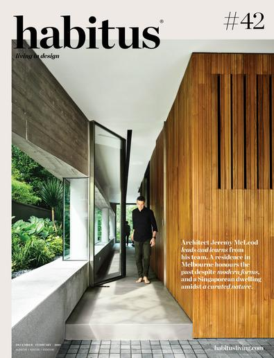 Habitus magazine cover