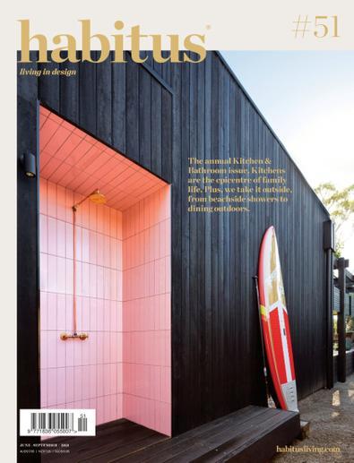 Habitus magazine cover
