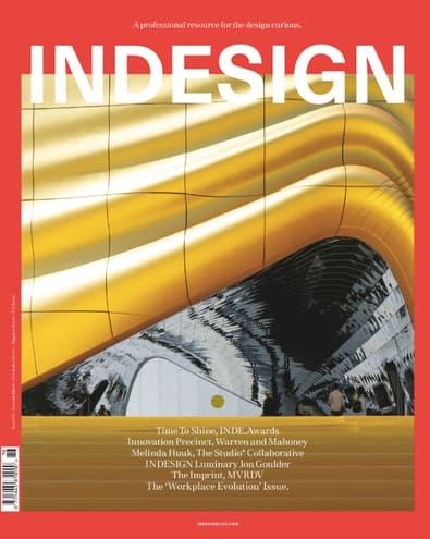 Indesign magazine cover