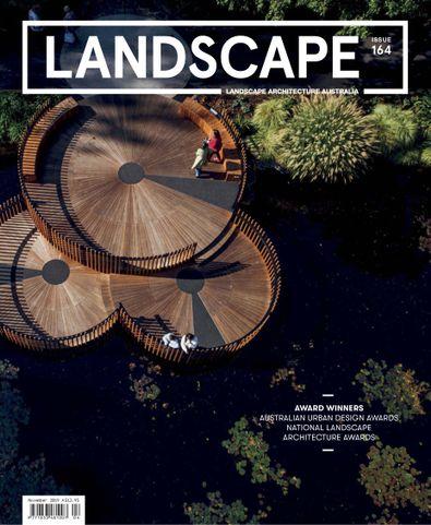 Landscape Architecture Australia magazine cover