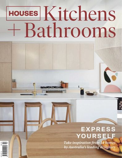 Houses Kitchens + Bathrooms magazine cover