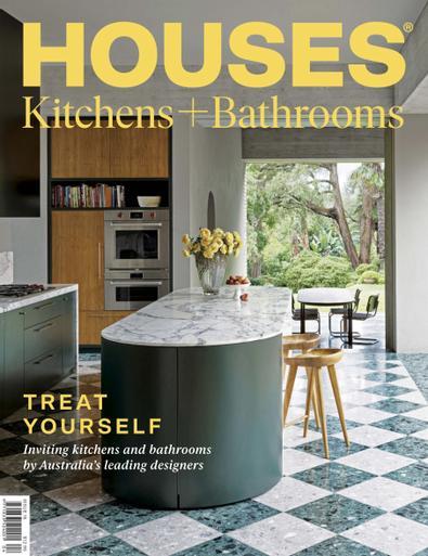 Houses Kitchens + Bathrooms magazine cover