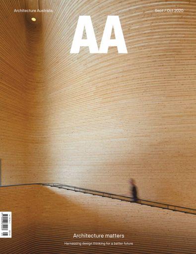 Architecture Australia magazine cover