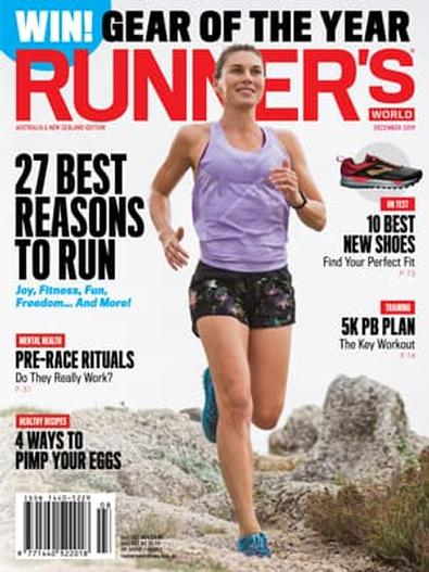 Runner's World Australia & New Zealand magazine cover
