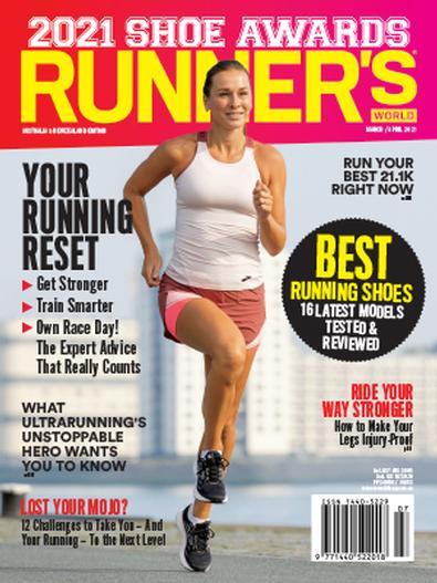 Runner's World Australia & New Zealand magazine cover