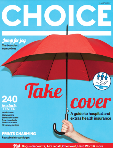 CHOICE magazine cover