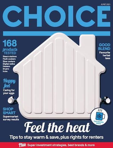 CHOICE magazine cover