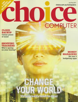 CHOICE Computer magazine cover